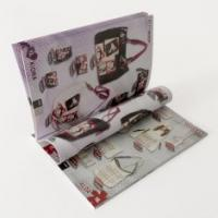 Quality Glue binding / saddle stitching CIS or C2S glossy art paper Printing Trade Magazines for sale