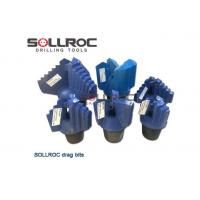Buy cheap Drill Rig Tools 3/4 Blades Wing Step Water Well Drilling Drag Bit from wholesalers