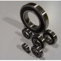 single row deep groove 608 / 625 / 6001 / 6901 / 6201 / 6202 6000 ball rolling bearings Manufactures