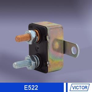 Overcurrent protection circuit breaker , Manual Reset Circuit Breaker for boat 14Volt DC , 24v DC Manufactures