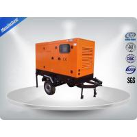 Water - cooled Mobile Trailer Mounted Generator With Perkins Diesel Engine Manufactures