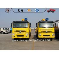 HOWO 8X4 Truck Mounted Straight Boom Service Truck Crane 25 Tons Loading Capacity Manufactures