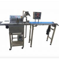 Food Grade Snack Food Making Machine , Chocolate Coating Machine Fully Automatic Manufactures
