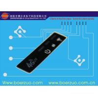 Quality Tactile LED Push Button Stock Membrane Switch Keypad With Glossy LCD Window for sale