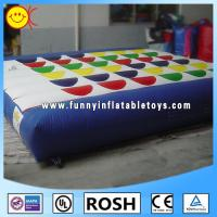 Commercial Giant Inflatable Mattress / Inflatable Cushion For Jumping Manufactures