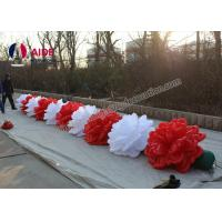 10 M Length Advertising Inflatables Flower Wedding Decoration Oxford Fabric Manufactures