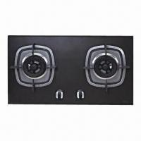 Built-in Gas Hob, Made of Ceramic Material, 4.1/4.1k/W Rated Thermal Flow and 780 x 450mm Panel Size Manufactures