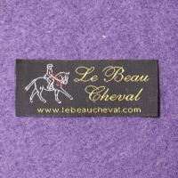 Washable Polyester Woven Clothing Labels For Clothing Garment Bags Manufactures