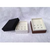 Up And Down Cufflink And Tie Clip Storage Box Square Shape 93 X 75 X 50mm Size Manufactures