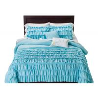 Non Woven Fabric White Down Alternative Comforter Set 100% Polyester Size Optional Manufactures