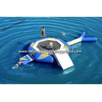 Outdoor Huge Water Trampoline Rental Inflatable Lake Rafts For Aqua Park Manufactures