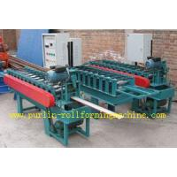 CNC Automatic Metal Ceiling Roll Forming Machine For Fold and Slit Work Piece Manufactures