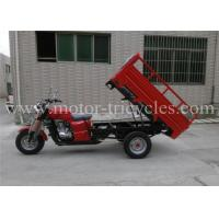 OEM 200 CC Single Cylinder Cargo Motorcycle Three Wheel Optional Color Manufactures