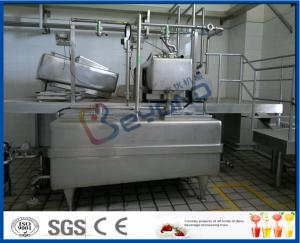 SGS Sanitary  1000L/H  Yoghurt Processing Line With Auto CIP Cleaning Manufactures