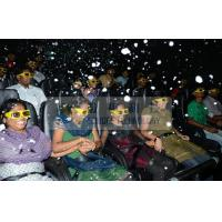 7D 8D 9D Motion Simulators XD Theatres with PU leather / real leather Motion