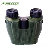 Outdoor Military 10X25 Powerful Compact Binoculars Spiral Eyecup For Night Vision Manufactures