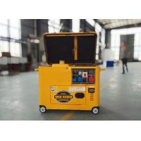 China New design 5KW disel silent generator, portable with ways, home use, high performance with best price ! on sale