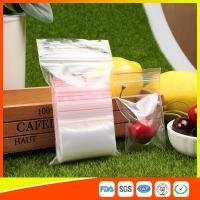 Quality Transparent Packing Ziplock Bags Resealable Plastic Snack And Candy for sale