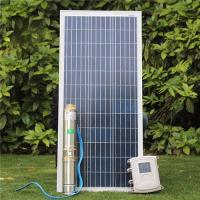 3 Inch Mini 24 Volt 48V MPPT Controller Kits Deep Bore Well Submersible DC Solar Water Pump Manufactures