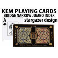 Advanced KEM Stargazer Invisible Ink Marked Card Decks For Cheating Poker Games Manufactures