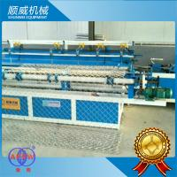4m White Chain Link Fence Weaving Machine Full Automatic Type Manufactures