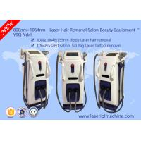 808nm Diode Hair Laser Removal Machine / Q - Switch Nd Yag Laser Tattoo Removal Manufactures