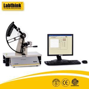 Computer Controlled Tear Testing Machine For Composite Materials Elmendorf Method Manufactures