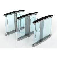 Quality Fast Speed Turnstile Security Systems , 50HZ Swing Barrier Gate for sale