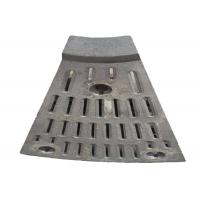 Manganese steel wear plates for ball mill with 5mm gap by special process Manufactures
