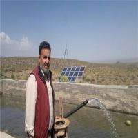 Solar Powered Submersible MPPT Controller Kits Deep Bore Well Tube Well Magnet DC Submersible Water Pump Manufactures