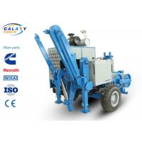 10 Groove Conductor Stringing Machine , 220KN Max Intermittent Pull Power Line Tensioner Manufactures