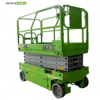 Green Self propelled 8m Hydraulic scissor lift with 450KG capacity for sale Manufactures