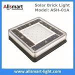 6x6 inch Solar Paver Lights Patio Solar Brick Lights Garden Landscaping Solar Underground Inground Lights Manufactures