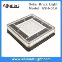 6x6 inch Solar Paver Lights Patio Solar Brick Lights Garden Landscaping Solar Underground Inground Lights Manufactures