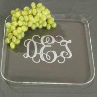 Unique Plexiglass Food Display Trays PMMA Transparent Fruit Stack Service Stand Manufactures