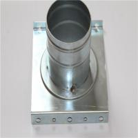 China Custom Made Metal Welding Parts For Construction Industry Corrosion Resistance on sale