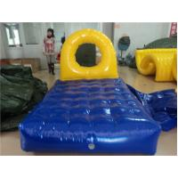 Inflatable PVC Tarpaulin Water Toys for Kids , Water Gyro Green and White Manufactures