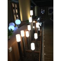 IP44 Solar Pathway Decor Lamps Solar Path Lights Stainless Steel + Plastic Manufactures