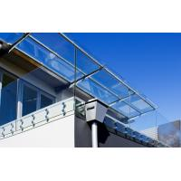 Frameless stainless steel glass balustrade with Patch Fittings Manufactures
