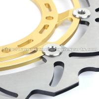 320mm Durable Wave Floating Motorcycle Brake Discs for Yamaha XT600X