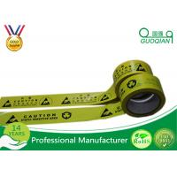 Underground Caution PE Warning Tape Double Color with Strong Adhesive Manufactures