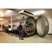 Brick / Food / Glass / Wood Autoclave High Pressure For AAC Plant , High Efficiency Manufactures