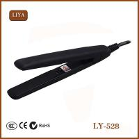 Safe and good quality flat iron hair straightener with CE, ROHS,IEC approval Manufactures