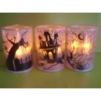 Buy cheap LED flashing tea-light Christmas LED candle Indoor decorated Halloween LED candle Flamless LED candle from wholesalers