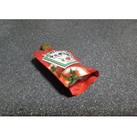 Quality 100ml Spout Stand Up Pouch Food Grade Recycled For Tomato Sauce for sale