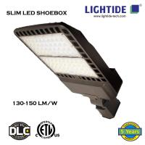 Slim LED Parking Lot Lights   Shoebox Lights 150W, 100-277vac, 5yrs warranty Manufactures