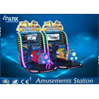 HD Display Boat Racing Games / Arcade Racing Simulator Leather Vibration Seats Manufactures