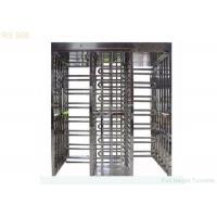 Access Full Height Turnstiles Gate Electronic Brushed With bi-directional Manufactures