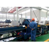 Automated CNC Pipe End Face Beveling Machine for thick heavy piping spool preparation Manufactures