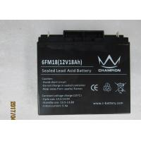 Sealed lead acid battery 12v 18ah long life battery for solar power UPS inverter power Manufactures